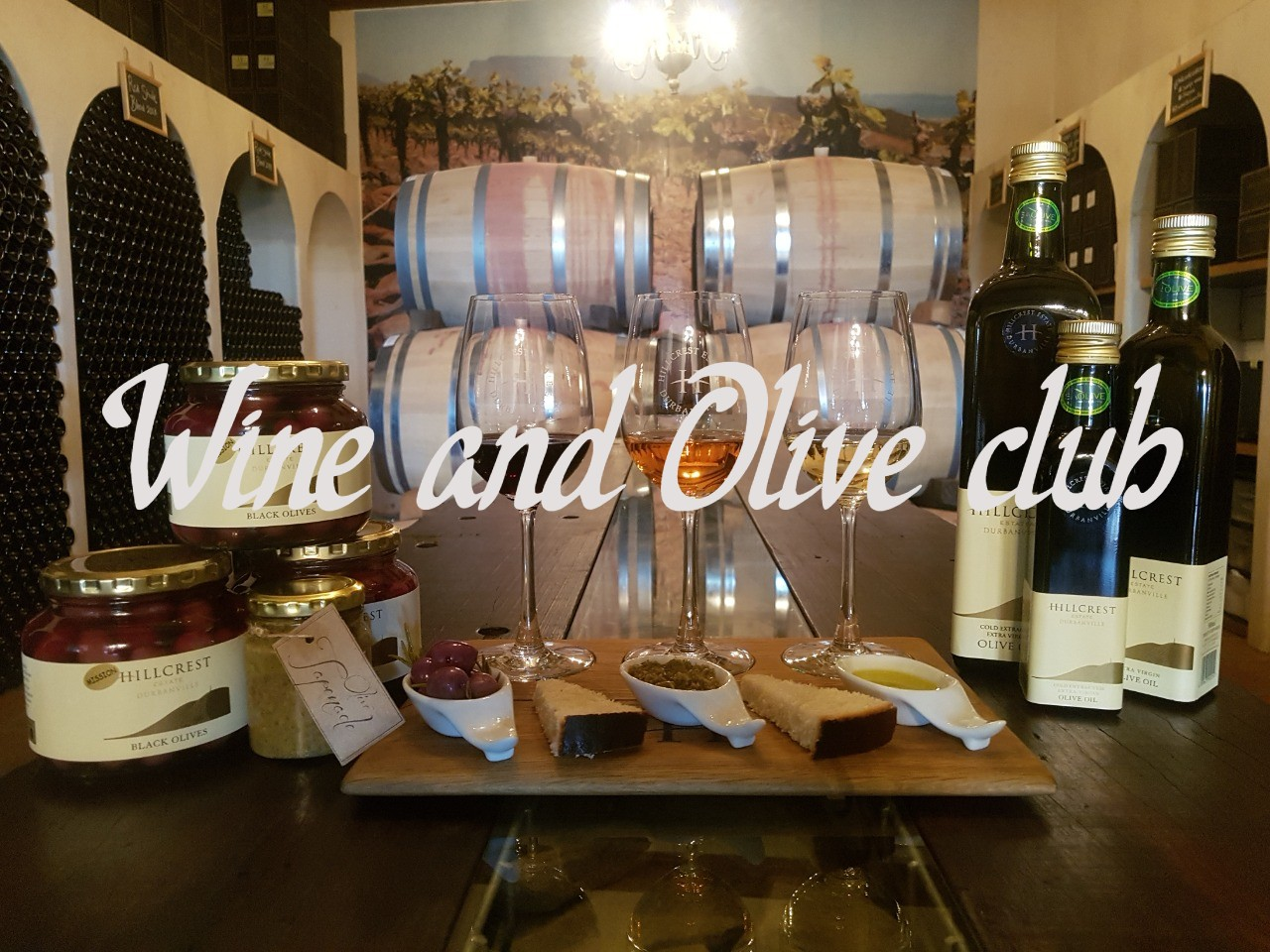 Join our wine and olive club